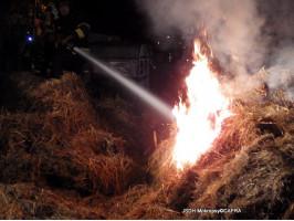 Požár stohu Lety