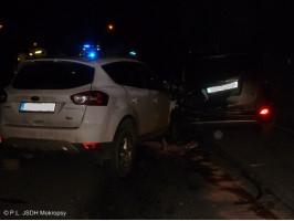 Dopravní nehoda 2 x OA ulice Kladenská