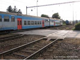 Vykolejený vlak Øevnice