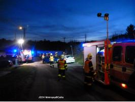 Dopraní nehoda 2x OA 115/II ulice Dobřichovická