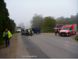 Dopravní nehoda ulice Radotínská