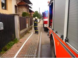 Požár komína RD ulice Srbská