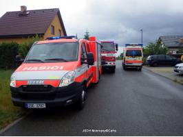 Záchrana osob otevření RD ulice Brusinková