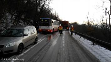 DN dobřichovický kopec NA vs autobus